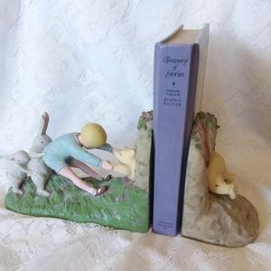 Vintage Disney Charpente Ceramic Bookends
